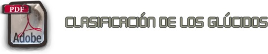 CLASIFICACIÓN DE LOS GLÚCIDOS